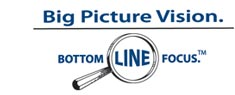 Big Picture Vision - Bottom Line Focus